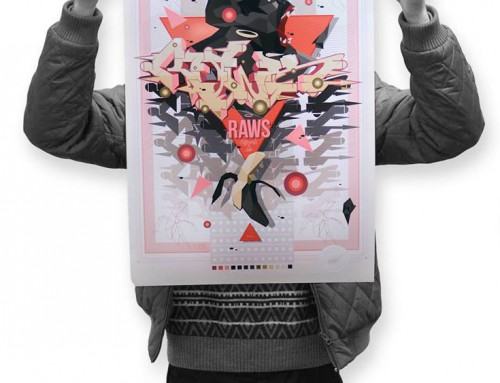 Gorilla Style – Print by Raws